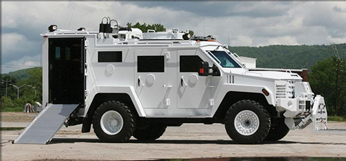 CIRT Vehicle Side View