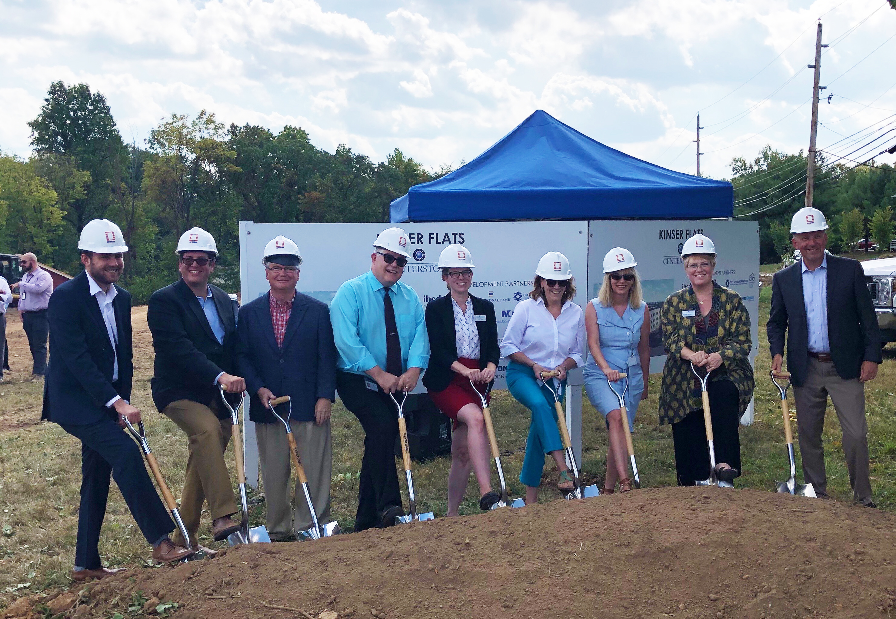 Centerstone, City of Bloomington, State and Community Partners Break Ground  on Affordable Housing Development Kinser Flats | City of Bloomington,  Indiana