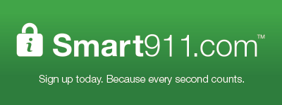 Smart911.com. Sign up today, because every second counts.