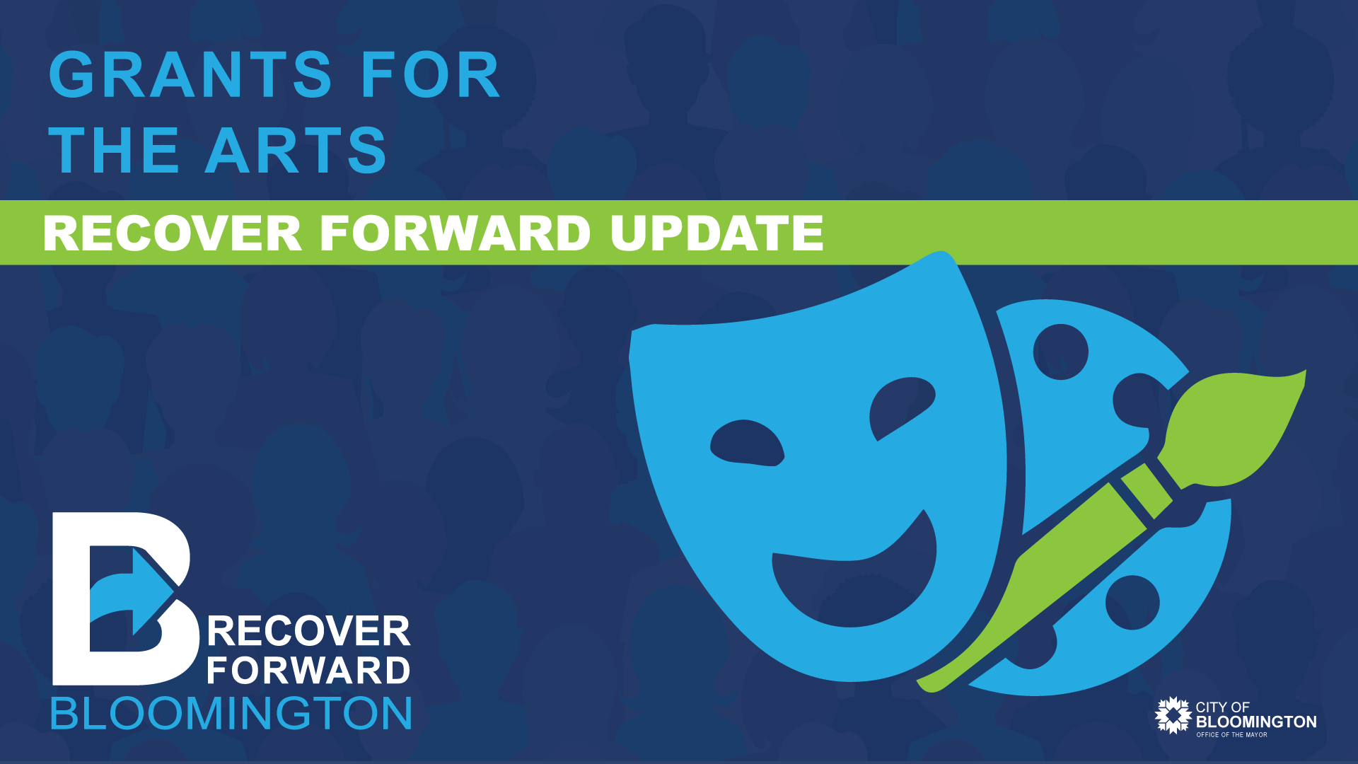 Arts Recover Forward Update